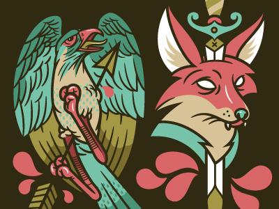 Fox & Falcon