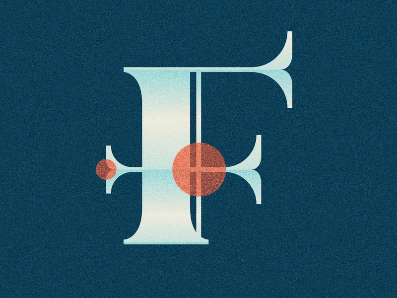 36 Days of Type - F 36 days of type 36daysoftype07 36daysoftype 36days distressed vintage lettering type illustration typography