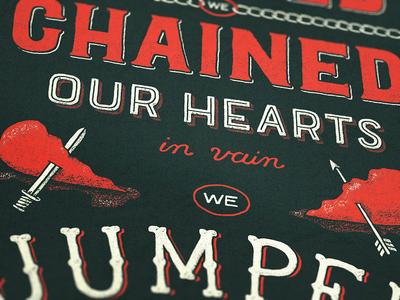 Wrecking Ball Lyrics Poster