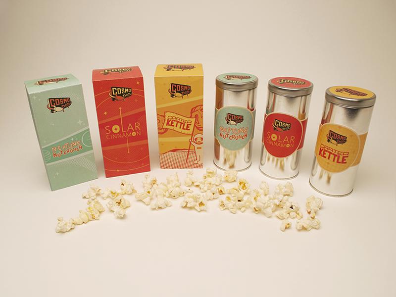 Cosmo pop packaging