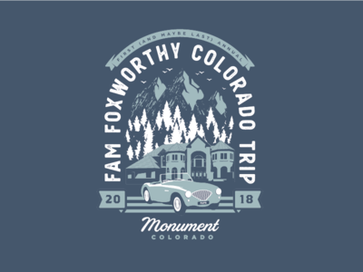 Family Colorado Vacation Shirts