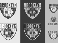 Brooklyn nets dribbble large