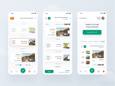 Magication - AI Vacation Planner App attractions hotel ios iphone 2021 user experience design trip planner vacation travel application uiux product design mobile app design user interface design