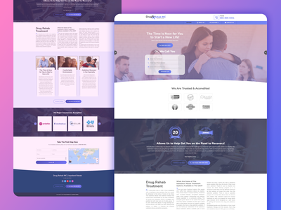 Drug Rehab INC webdesign website website builder websites graphic design psd template website template website design website concept psd mockup psd design photoshop design
