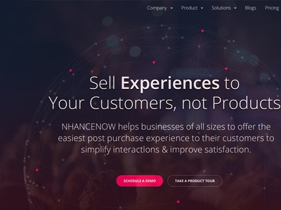 NHANCENOW Homepage