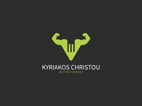 Kyriakos Christou Logo Design - Nutritionist