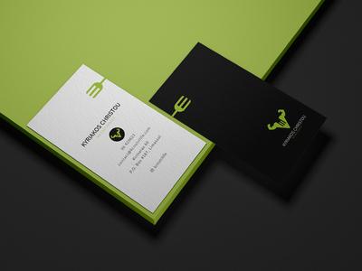 Kyriakos Christou Nutritionist - Brand Identity Design