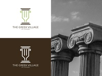 The Greek Village Logo Design
