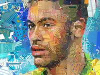 Зрелище (Spectacle): The Neymar Jr. (Brazil) portrait