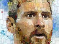 Лидер (Leader): The Lionel Messi (Argentina) portrait