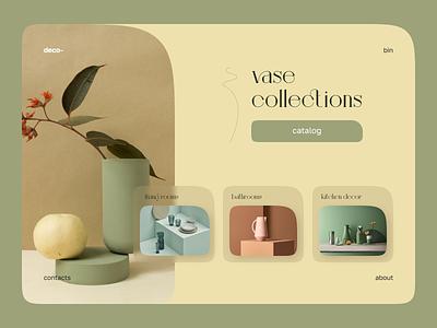Home decor catalog figma concept