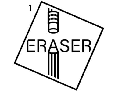 Eraser logo var 1