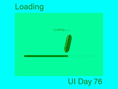 Loading Daily UI Challenge Day 76