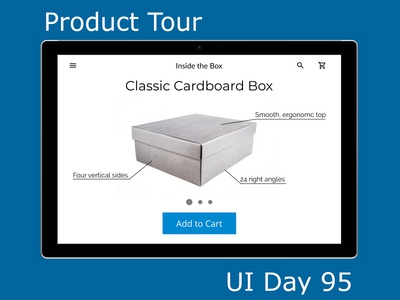 Product Tour Daily UI Challenge Day 95