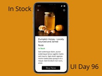 In Stock Daily UI Challenge Day 96