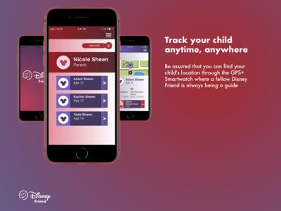 Disney Friend iPhone App