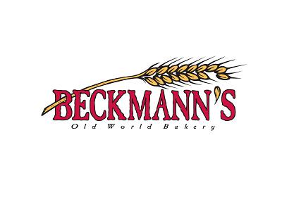 Beckmann's Bakery Logo branding santa cruz bakery food logo