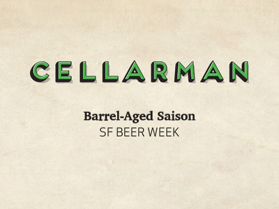Santa Adairius Cellarman Beer Label capitola brewery sante adairius rustic ales beer week cellarman beer label beer