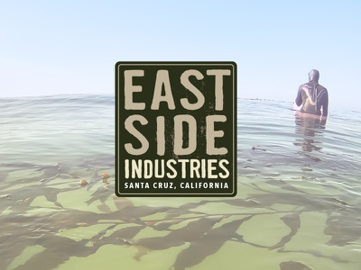 Eastside Industries Logo surf paddle logo santa cruz eastside