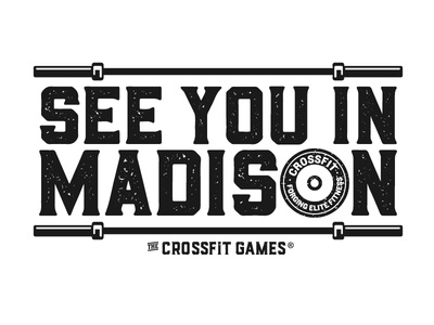 See you in Madison the CrossFit Games forging elite fitness plates barbells madison crossfit games crossfit