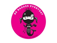 Be Badass Everyday Mermaid