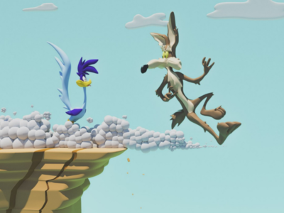 Coyote & Road Runner 3D