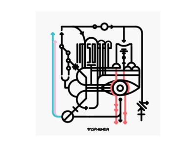 Dysphoria design minimal art illustration transgender
