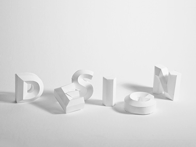 Paper Type type typography photography 3d paper