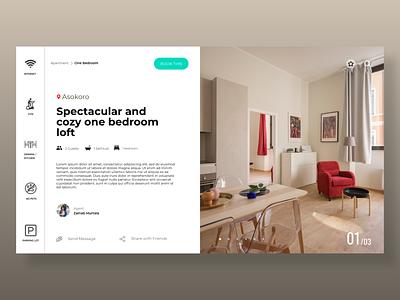 Century Estate website design branding ux web ui