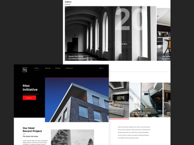 Max Initiative branding web design