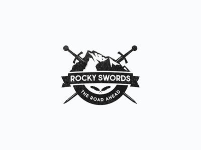 Mountain and Swords