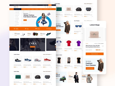 Online Shop ecommerce business ecommerce design ecommerce shop ecommerce online shop clean design web design user interface user experience ux ui