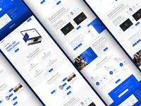 Bizitravel Landing Page V2