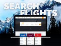 Extrabilet clean design flight search booking system airlines travel flight booking online booking web design user experience user interface ux ui