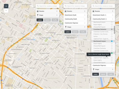 Map UI map ui interface navigation gps