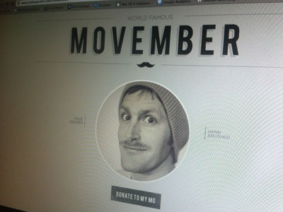Movember movember moustache mustache