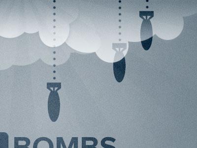 Bombs blue proxima nova noise