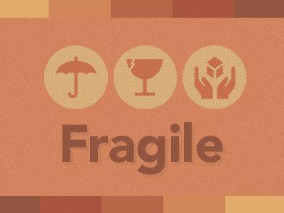 Fragile orange avenir