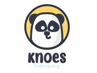 Knoes panda logo