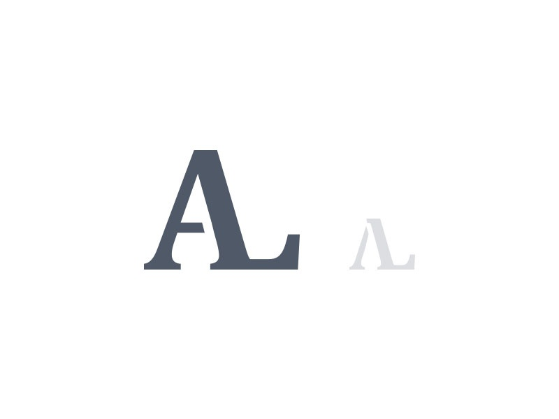 Al Monogram By Josh Somers On Dribbble