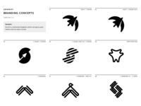 Swwwift Branding Concepts - Solid cursor websites swift quick illustration sillhouette design branding concept logo branding bird