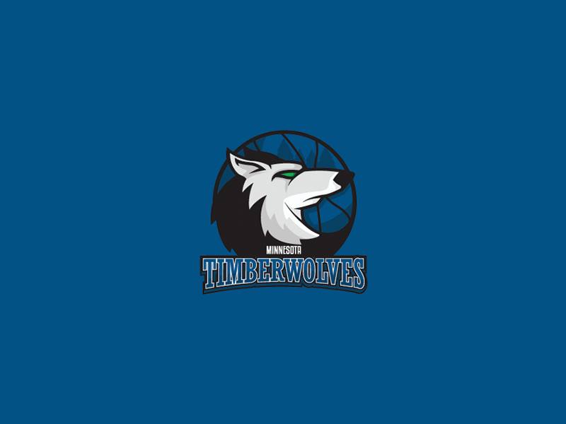 Minnesota Timberwolves By Caiuan Santos On Dribbble