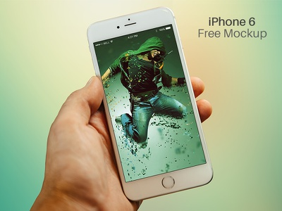 Free iPhone 6 Mockup PSD iphone iphone6 mock-up mockups psd photoshop download free freebie render mockup free-mockup
