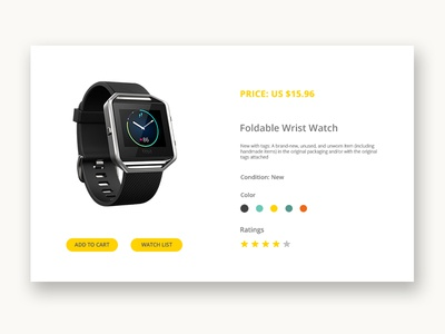 DailyUI #033 - Customize Product user experience user interface 033 dailyui033 daily ui dailyui 033 web element ux ui customize product dailyui