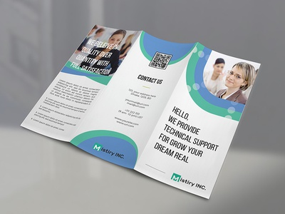 Trifold Brochure stationary design tri-fold brochure brochure design ai brochure vector brochure folding brochure branding identity branding stationary print template brochure trifold brochure
