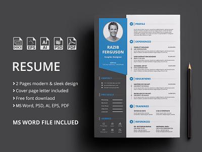 Resume | Freebie free template freebie freebbble resume clean cv cv resume template cv template word resume design resume cv resume free freebie psd free resume free resume template
