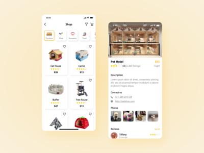 Pet Shop - Booking App UI Kit