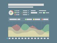 Analytics Dashboard Wireframe