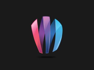 M 3d Logo M - mark by reloart - ...