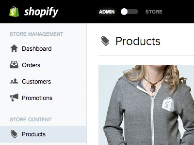 Shopify2 design typography shopify ui